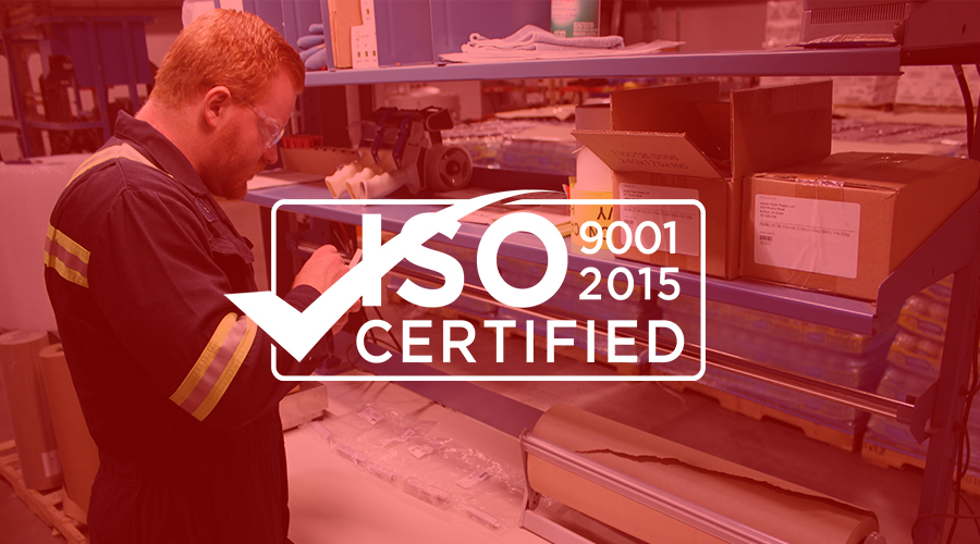 CMP's Virginia Facility Receives ISO 9001:2015 Certification