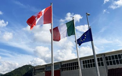 CMP Europe Relocates to a New Facility in Italy